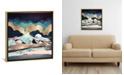 """iCanvas """"Indigo Spring"""" by Spacefrog Designs Gallery-Wrapped Canvas Print"""