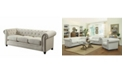 Coaster Home Furnishings Roy Sofa with Rolled Back and Arms