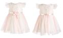 Bonnie Baby Baby Girls Lace Ballerina Dress