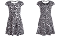 Epic Threads Big Girls Animal-Print Crisscross Strap Dress, Created for Macy's