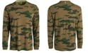Ideology Men's Exploded Camo Long-Sleeve T-Shirt, Created for Macy's