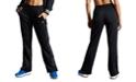 Champion Women's Tricot Logo-Stripe Track Pants