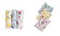 Little Unicorn Berry Lemonade Cotton Muslin 3-Pack Swaddle Blanket Set