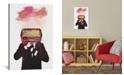 "iCanvas Radiohead by Dv°Niel Taylor Wrapped Canvas Print - 60"" x 40"""