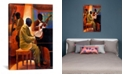 """iCanvas Piano Man by Keith Mallett Wrapped Canvas Print - 26"""" x 18"""""""