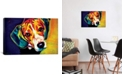 "iCanvas Beagle Bailey by Dawgart Wrapped Canvas Print - 26"" x 40"""
