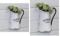 "VIP Home & Garden Metal ""Flowers and Garden"" Planter"