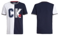 Calvin Klein Big Boys Colorblocked Split Logo T-Shirt