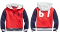 Polo Ralph Lauren Toddler Boys Big Pony Cotton French Terry Hoodie, Created For Macy's