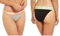 Calvin Klein Women's Neon High-Cut Bikini Underwear QF5571