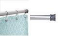 "Kenney Twist Fit™ No Tools Rust-Proof Aluminum Shower Curtain Rod, 42-72"""