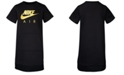 Nike Little Girl Logo-Print T-Shirt Dress