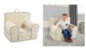 Kangaroo Trading Company Kangaroo Trading Co. Classic Kid's Grab-N-Go Chair, Vintage-Inspired Flyer Lead with Capstone Flint