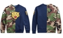 Polo Ralph Lauren Big Boys Fleece Tiger Half-Camo Knit Sweatshirt