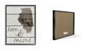 "Stupell Industries Born and Raised Illinois Framed Giclee Art, 11"" x 14"""