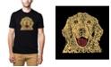 LA Pop Art Men's Premium Word Art T-Shirt - Dog