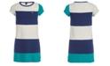 Tommy Hilfiger Big Girls Colorblocked T-Shirt Dress