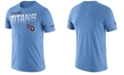 Nike Men's Tennessee Titans Sideline Legend Line of Scrimmage T-Shirt