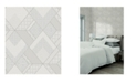 "Sirpi 20.5"" x 396"" Castle Geometric Wallpaper"