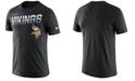 Nike Men's Minnesota Vikings Sideline Legend Line of Scrimmage T-Shirt