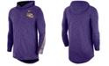 Nike Men's LSU Tigers Hooded Sideline Long Sleeve T-Shirt