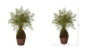 """Nearly Natural 32"""" Maiden Hair Fern Artificial Plant in Decorative Planter"""