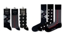 Love Sock Company 3 Pack Men's Organic Cotton Dress Socks Bundle