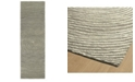 """Kaleen Textura TXT01-75 Gray 2'6"""" x 8' Runner Rug"""