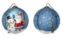 Ne'Qwa The NeQwa Art The Gift Of Friendship hand-painted blown glass Christmas ornament