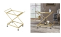 Noble House James Indoor Industrial Cart, Quick Ship