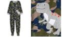Carter's Little & Big Boys 1-Pc. Dinosaur Fleece Footie Pajamas