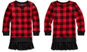 Polo Ralph Lauren Little Girls Cotton Terry Sweatshirt Dress