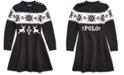 Polo Ralph Lauren Little Girls Intarsia-Knit Sweater Dress