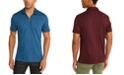 INC International Concepts INC Men's Anido Zip Polo Shirt, Created For Macy's