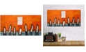 "Courtside Market William DeBilzan 7 Men Out 12""x24""x2"" Gallery-Wrapped Canvas Wall Art"
