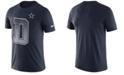 Nike Men's Dallas Cowboys Dri-FIT Cotton Mezzo Local Verbiage T-Shirt