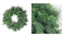Northlight Valley Pine Artificial Christmas Wreath - Unlit