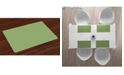 Ambesonne Green Place Mats, Set of 4