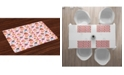 Ambesonne Pink Place Mats, Set of 4