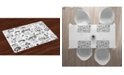 Ambesonne Video Games Place Mats, Set of 4