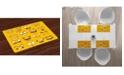 Ambesonne Emoji Place Mats, Set of 4