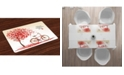 Ambesonne Valentines Day Place Mats, Set of 4