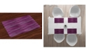 Ambesonne Magenta Place Mats, Set of 4
