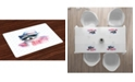 Ambesonne Funny Place Mats, Set of 4