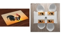 Ambesonne Rooster Place Mats, Set of 4