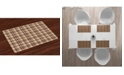 Ambesonne Tan and Brown Place Mats, Set of 4