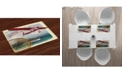 Ambesonne Adventure Place Mats, Set of 4