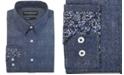 Nick Graham Men's Modern-Fit Denim Shirt