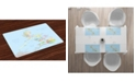 Ambesonne Philippine Place Mats, Set of 4