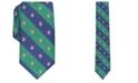 Club Room Men's Classic Snowman Stripe Tie, Created For Macy's